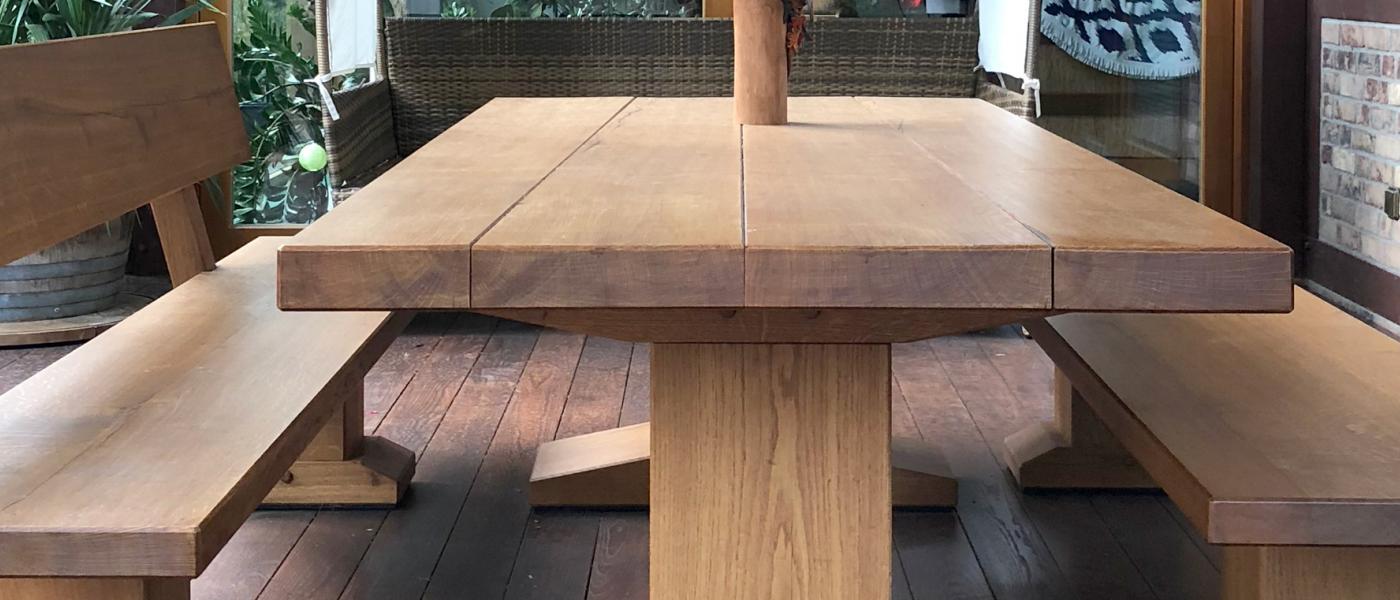 Gartentisch Bänke Bau Möbeltischlerei Behrendt